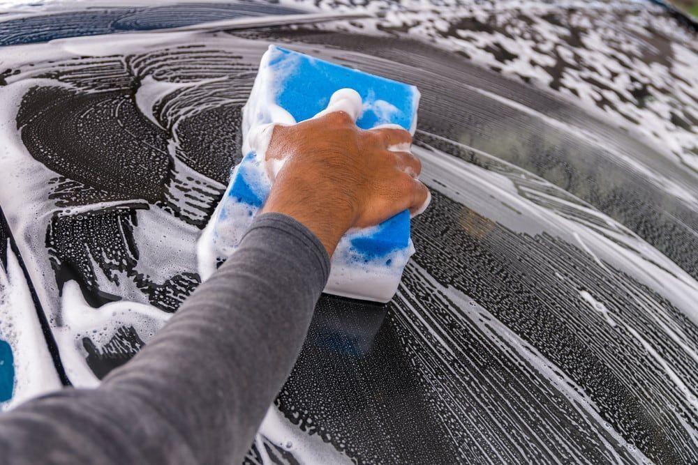 Як мити авто взимку.